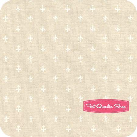 French General Favorites Pearl Fleur De Lis Yardage SKU# 13605-20 - Fat Quarter Shop