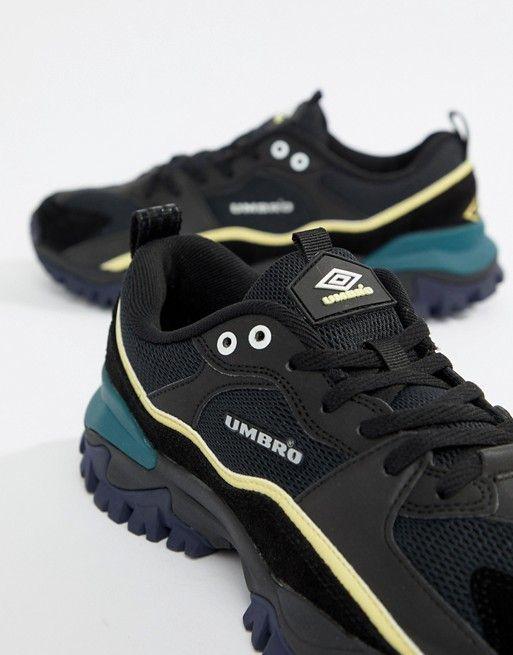 Umbro Bumpy Sneakers in Black   ASOS