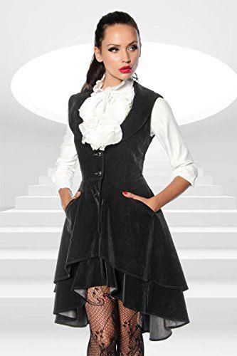 High quality, Frock Coat vest Mantelkleid made from black velvet multicoloured Size:XXL Atixo http://www.amazon.co.uk/dp/B009M688J8/ref=cm_sw_r_pi_dp_LVhowb1VD771S