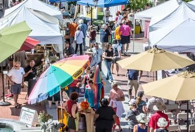 St Philips Plaza Farmers' Market 1 of the 25 Best things to do in Tucson, Arizona  © 2015 Michael Moriarty Photography