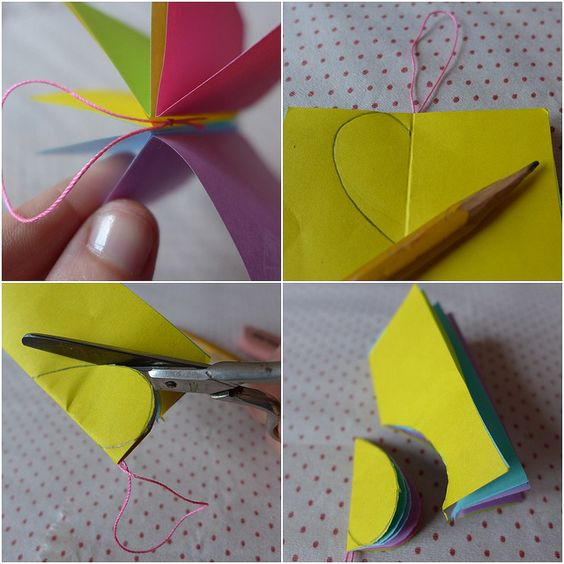 Enfeite de post-it