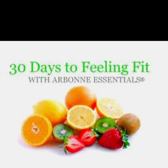 30 days to feeling fit with Arbonne Essentials! www.arbonne.com