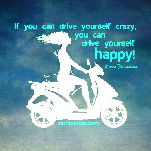 How do you drive yourself? ;)