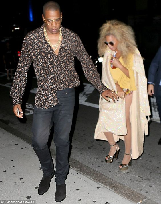 A star-studded affair: The party was also attended by Solange, Sean 'Diddy'…