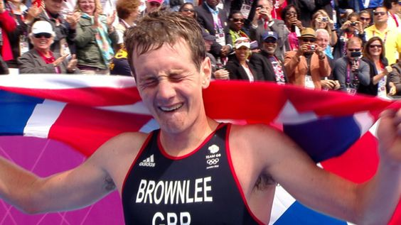 Britain's Alistair Brownlee won a brilliant Olympic triathlon gold with his younger brother Jonny in bronze as Spain's Javier Gomez took silver.  The elder Brownlee, injured for the first half of the year, went away on the 10km run and crossed the line with a union jack draped over his shoulders to delight a huge Hyde Park crowd. onny had incurred a 15-second penalty for mounting his bike too early in transition one and had to take it at the end of the penultimate run lap.