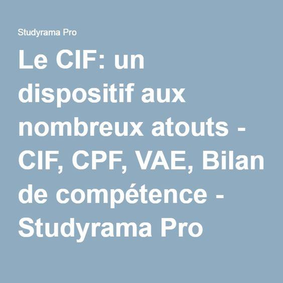Le CIF: un dispositif aux nombreux atouts - CIF, CPF, VAE, Bilan de compétence - Studyrama Pro