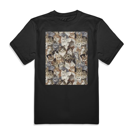 Cats Men's Graphic Tee