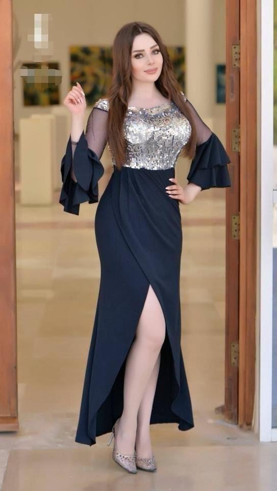 فستان سهرة شيفون كحلي In 2021 Dresses Prom Dresses Fashion