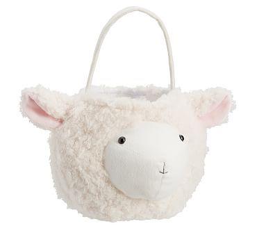 Puffy Lamb Treat Basket