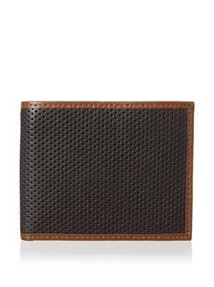 40% OFF Joseph Abboud Men's Round Perforated Embossed Pass Case