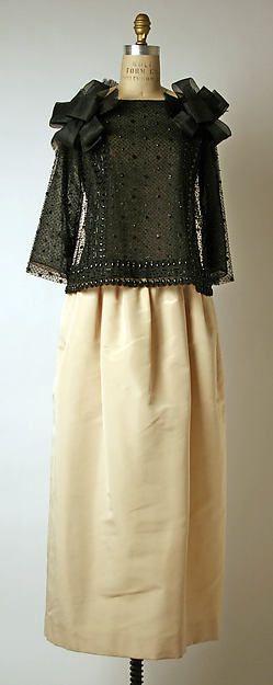 """Romancero"" - Yves Saint Laurent for House of Dior, 1960-61"