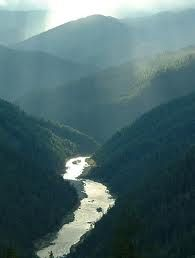 The rugged Rogue River in southern Oregon.