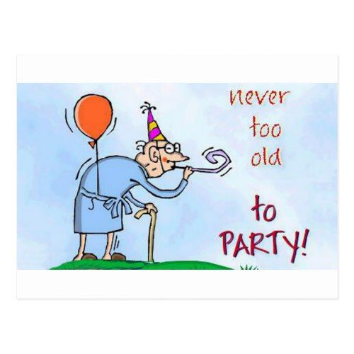 Too old to party