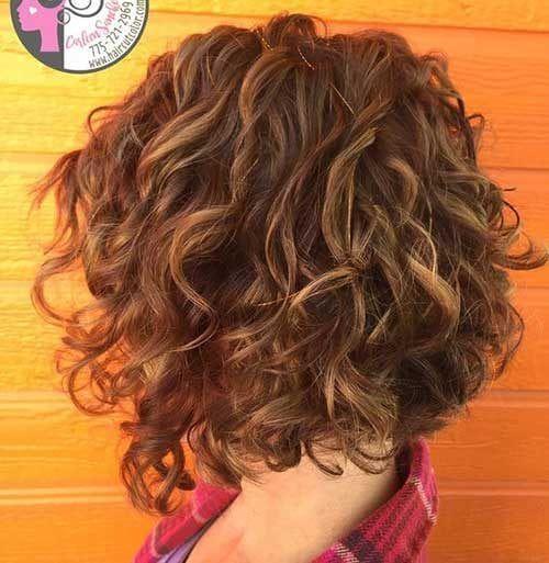 Frisuren 2019 Frauen Bob Locken Asymmetrische Bob Haarschnitt Fur