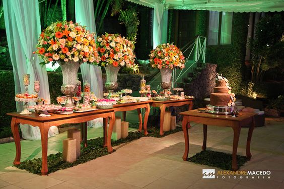 Foto 5833 do álbum de Casamento Novo Stilo - Cor da Festa: Laranja e Amarelo: