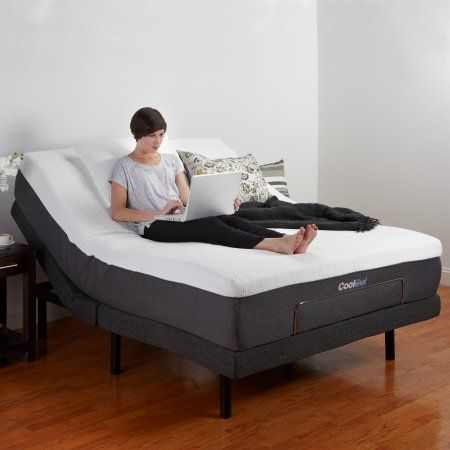 Modern Sleep Adjustable Comfort Adjustable Bed Base With Massage Wireless Remote And Usb Ports Multiple Sizes Adjustable Bed Base Adjustable Beds Bed Base