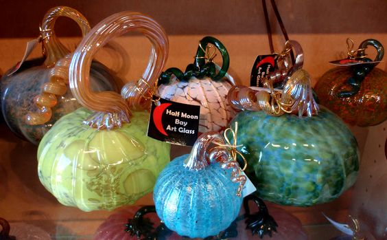 Everything Coastal....: The Art of Glass Blowing in Half Moon Bay