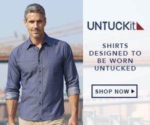 Men Will Love These Untuckit Button Down Shirts They Are