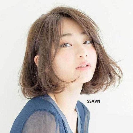 Mách bạn mẫu tóc ngắn xoăn sóng lơi rất đẹp nhé