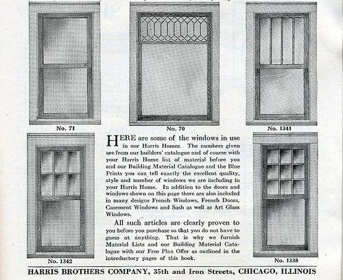 Window styles 1920s craftsman bungalow craftsman for 1920s window styles