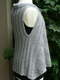 Ravelry: Vine Street Vest pattern by NorthbrooKnits Joyce Weida