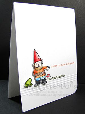 Gnome card from My Creations