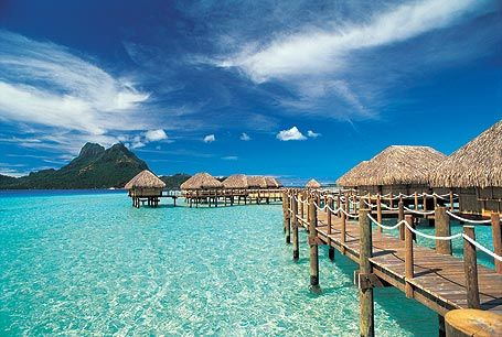 Overwater Bungalow in Tahiti... someday