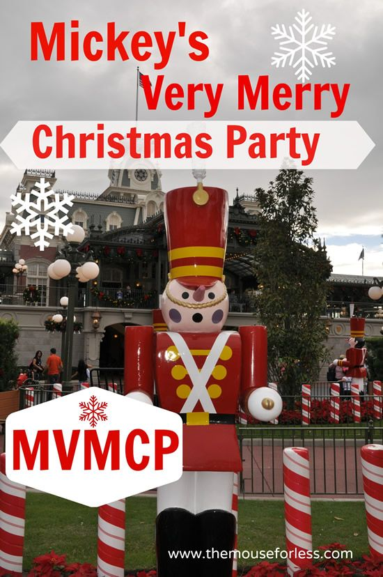 Information for Mickey's Very Merry Christmas Party at Walt Disney World Resort. This event is held in November and December each year at Magic Kingdom.: