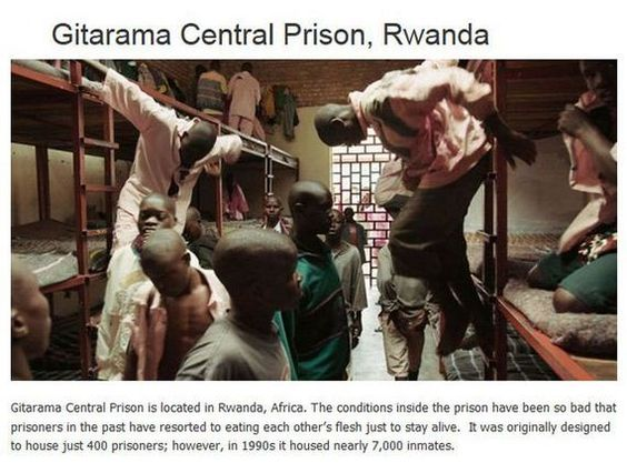 Gitarama Center Prison, Rwanda - 51.6KB