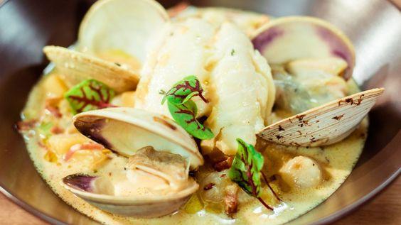 Une recette de chaudrée de palourdes «sans crème» - Version allégée, présentée sur Zeste et zeste.tv