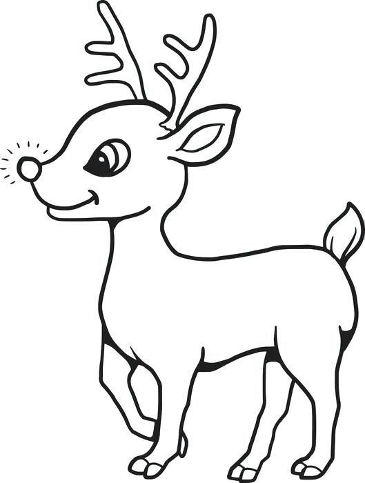 Free Reindeer Coloring Pages Reindeer Coloring Pages Reindeer Head Coloring Pages Free Enkla Ritningar Kortideer Malarbok