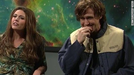 """Ryan Gosling couldn't keep a straight face during some of his sketches on """"Saturday Night Live"""""""