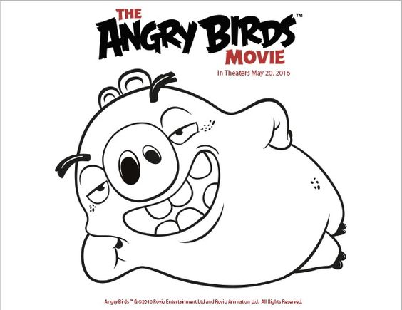 halloween angry birds coloring pages - photo #50