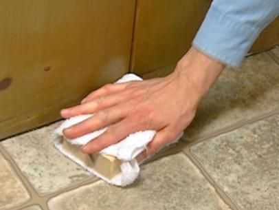 How to Install Vinyl Flooring | how-tos | DIY