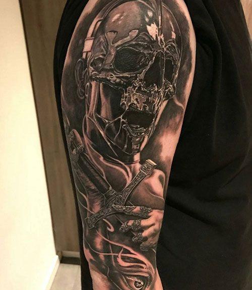 Unique Half Sleeve Tattoo Ideas For Guys Best Half Sleeve Tattoos For Men C Half Sleeve Tattoos For Guys Cool Half Sleeve Tattoos Unique Half Sleeve Tattoos