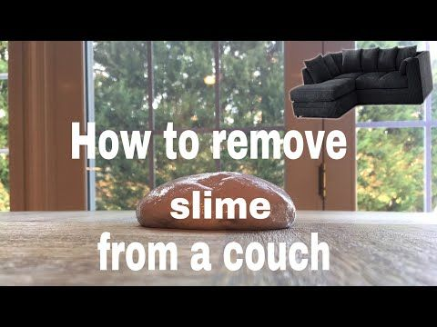 How To Get Slime Off Clothes Carpet Sofa Hair Slime Diy