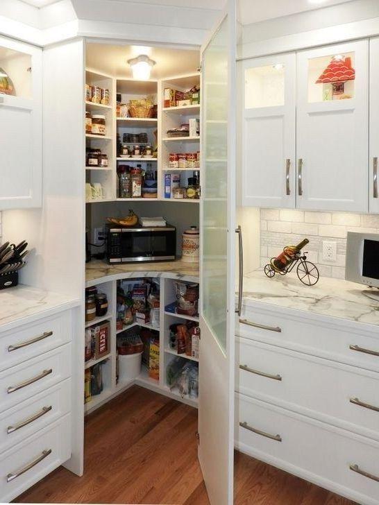 19 Creative Corner Kitchen Plans Decor Around The World Corner Kitchen Pantry Kitchen Pantry Design Kitchen Plans