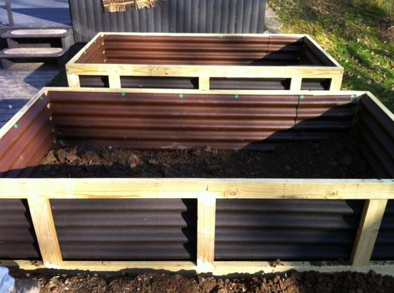 hugelkultur beds from Save Our Skills on FB.  Definitely doing this!!