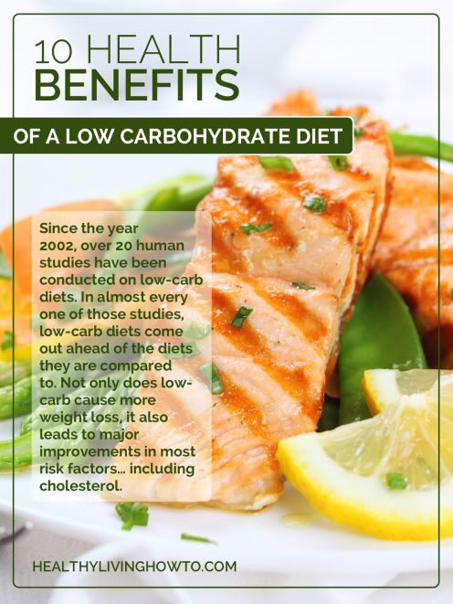 10 health benefits of a low-carb diet