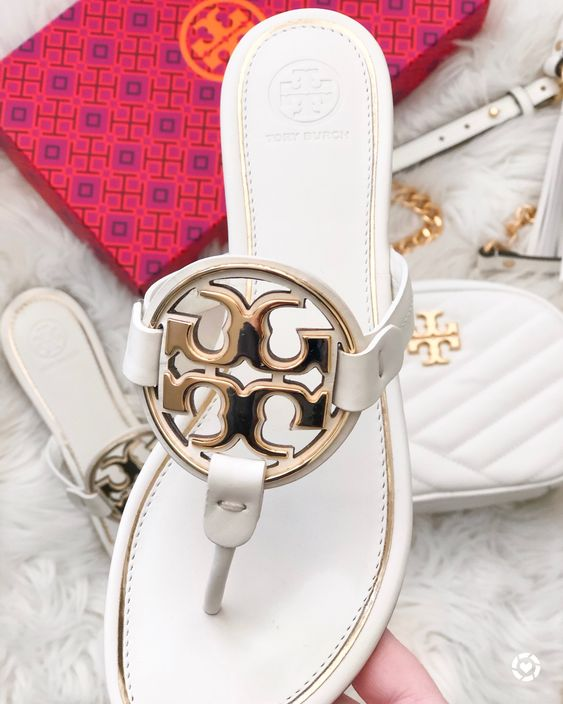 Huge Tory Burch Miller $50 Off Promo! Classic Colors & More Included | White Logo Miller Sandals