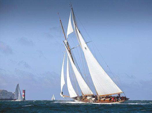 "That race of 2012 was memorable, as Ben Ainslie was helming the mighty ""Eleanor"", the re-creation of the legendary 'Westward', the 135ft Herreshoff schooner."