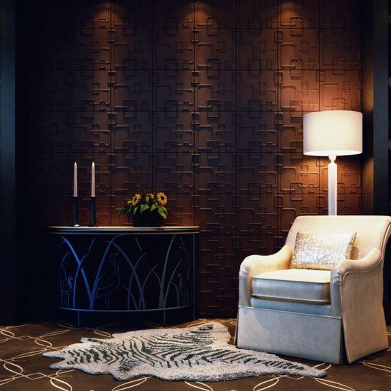 Descubre la alta decoraci n con los paneles decorativos 3d - Decoracion con paneles ...