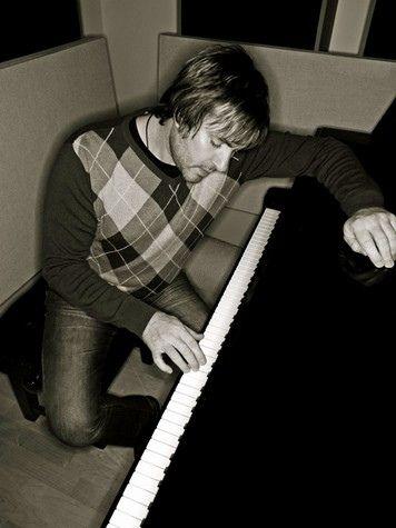 Simon Le Bon hard at work on a song