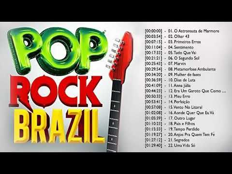 Pop Rock Brazil As Melhores De Rock Brasileiro Colecao De Rock