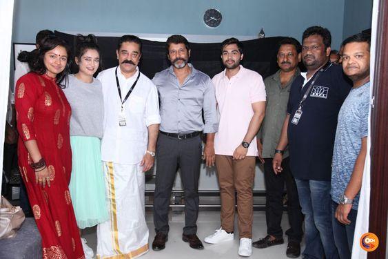 Kamal Haasan, Vikram project starts rolling