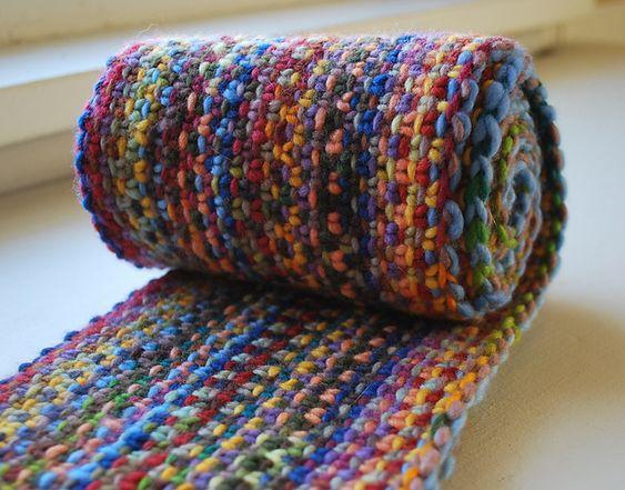 Malabrigo Knitting Patterns : Malabrigo Linen Stitch Scarf pattern by Scott Rohr/rohrknits Knitting, L