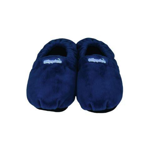 Wärmeschuhe Gr.L 41-45 dunkelblau mit Lavendel füllung Warmies Slippies Classic - http://on-line-kaufen.de/greenline-value/waermeschuhe-gr-l-41-45-dunkelblau-mit-lavendel