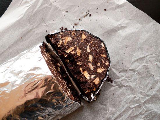 Chocolate Salami.  Kormos sokolatas