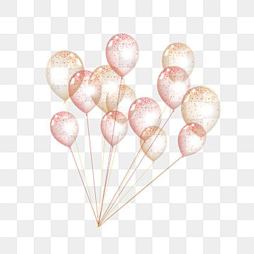 Gold Powder Astigmatism Birthday Balloons Balloon Clipart Balloon Birthday Golden Pink Party Event Png Transparent Clipart Image And Psd File For Free Downloa Birthday Balloons Pink Balloons Balloons