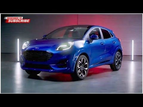 All New Ford Puma 2020 Ford Puma 2020 High Tech Compact Crossover Youtube Compact Crossover Ford Puma Crossover Cars